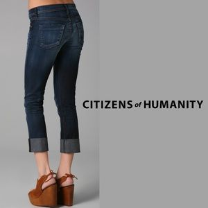CITIZENS OF HUMANITY | Cropped Straight Leg Jeans